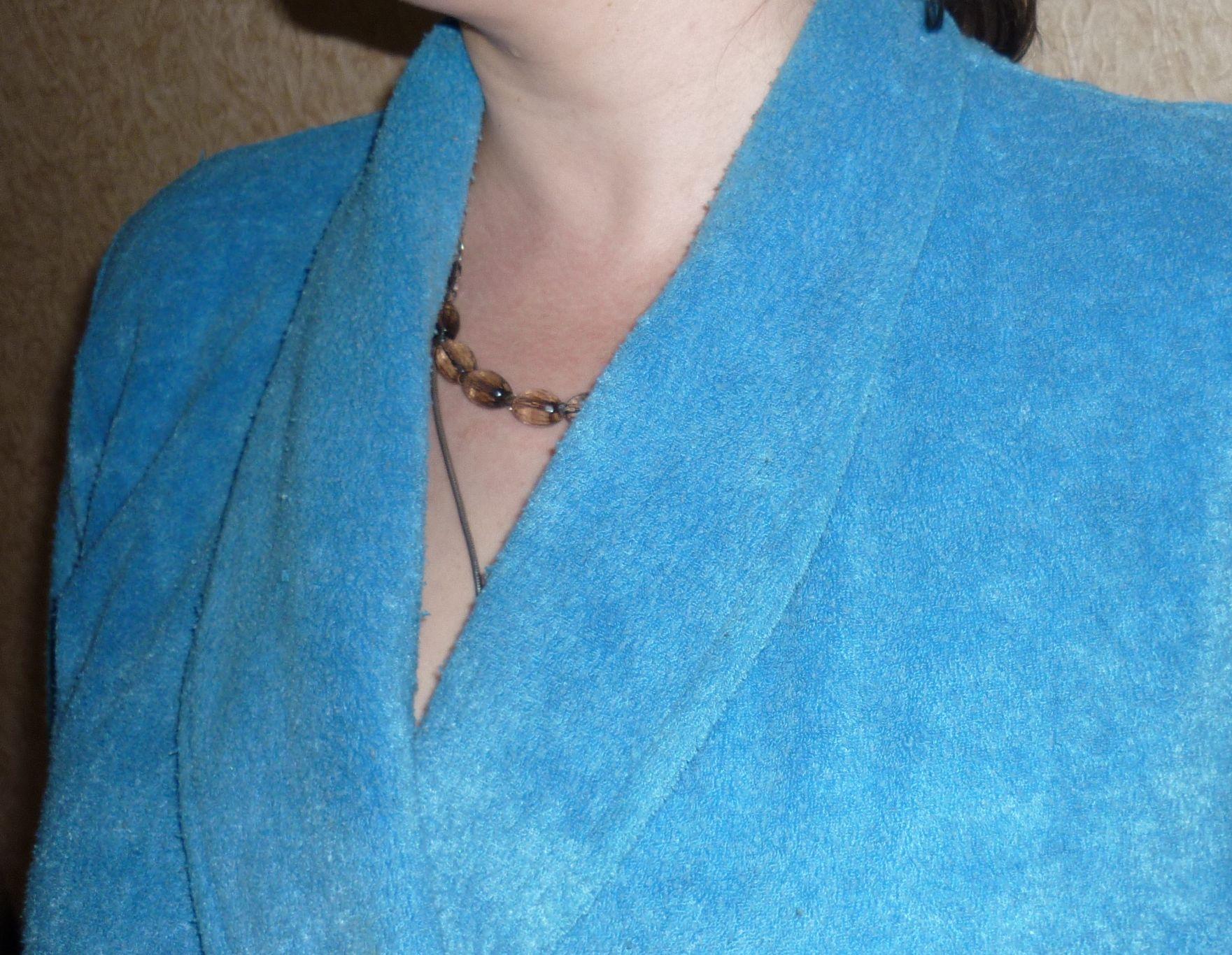 Как сшить домашний халат с воротником «Шалька»