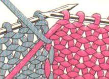 Как менять цвета при вязании на спицах