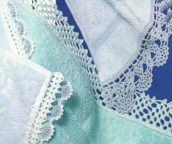 Как пришить кружево к одеялу