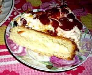 Крем для торта из молока