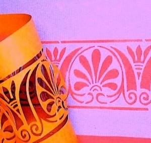Как сделать узоры краской на стенах в