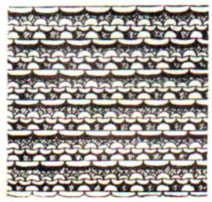 подробное описание ажурного вязания