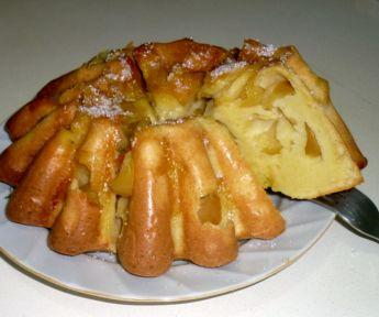 Рецепт шарлотки на сметане в духовке
