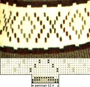 Треугольные кулоны из бисера - схемы (мозаичное) 9