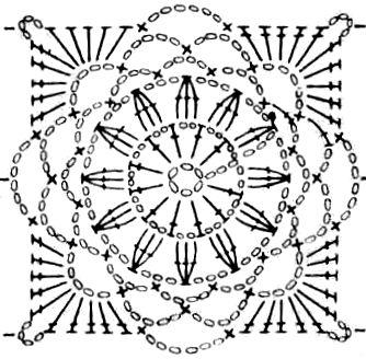 тысяча советов схемы вязания мотивов крючком