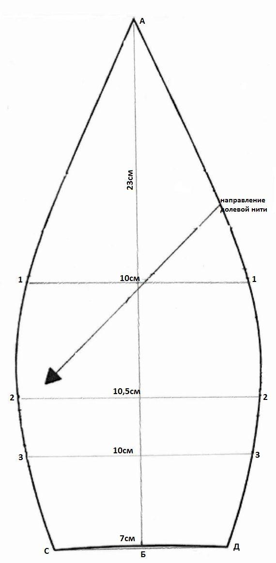 Кепка шестиклинка своими руками 3