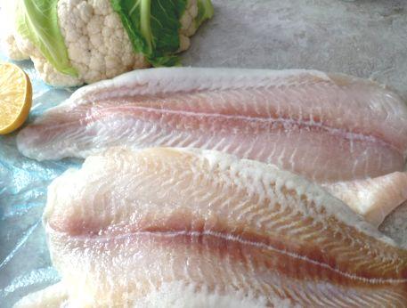 Филе морского языка в духовке